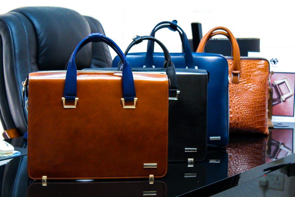 corporate luxury briefcase